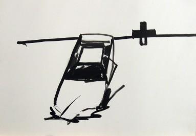 35x50 cm, ink
