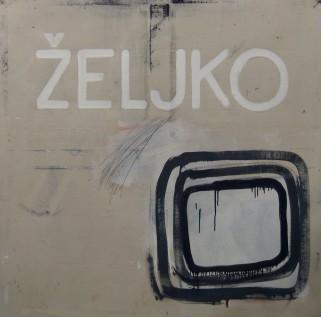 110 x 110 cm 2009, platno