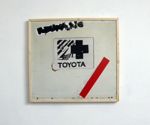 80 x 80 cm 2009, objekat