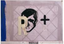 100 x 70 cm, comb. on canvas 2007 ET
